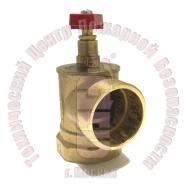 Клапан пожарного крана 15Б3Р угловой 90° 50 мм Артикул 300004