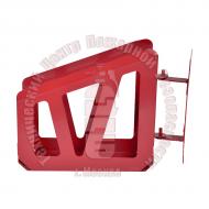 Корзина поворотная настенная для пожарного рукава Артикул 400320