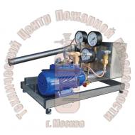 Установка для гидраиспытаний корпусов баллонов ручного действия на все типы баллонов УГИ-1н-2 Артикул 600109
