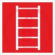 Знак Пожарная лестница F 03 Артикул 713040