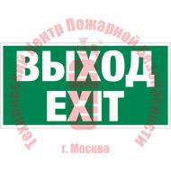 Знак Указатель выхода Е 22-01 Артикул 716025