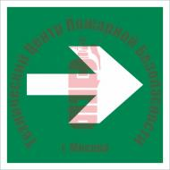 Знак Направляющая стрелка Е 02-01 Артикул 722003