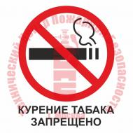 Знак Курение табака запрещено T 340-02 Артикул 724055