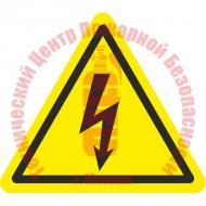 Знак Опасность поражения электрическим током W 08 Артикул 724117