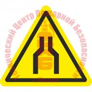 Знак Осторожно. Сужение проезда (прохода) W 30 Артикул 724139