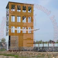 БП-02. Учебно-тренировочная башня на 4 дорожки для занятий пожарно-прикладным спортом Артикул 600176