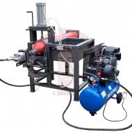 Стенд для вывинчивания и завинчивания зарядно-пусковых устройств (ЗПУ) баллонов высокого давления ТЦ-22 Артикул 600140