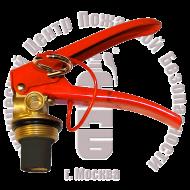 ЗПУ для ОП М30х1,5 (Шланг-раструб М14, манометр М10х1) Артикул 110104