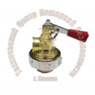 ЗПУ для ОП откидного типа М63х1,5 ( наружняя резьба, раструб М27, сифонная трубка М27, манометр М10х1) Артикул 110110