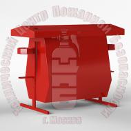 ЩП-02. Стенд пожарный с опрокидывающейся песочницей с комплектующими · 1,5 мм Артикул 600014