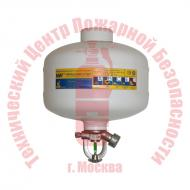 Модуль порошкового пожаротушения МПП-2,5/93Б МИГ Артикул 101011