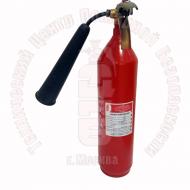 Огнетушитель углекислотный ОУ-2 BCE перезаряженный Артикул 610001