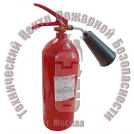Огнетушитель углекислотный ОУ-3 BCE перезаряженный Артикул 610009