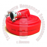 Рукав напорный пожарный латексированный РПМ-65 с головками ГР-70 Артикул 200402