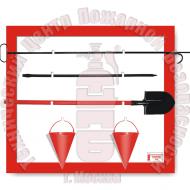 ЩП-01. Щит пожарный навесной открытый · 1,5 мм Артикул 600013