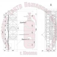 Скалодром для учебно-тренировочных башен (серии БП) Артикул 6001752