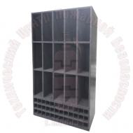 Стеллаж для хранения КИП, баллонов и патронов Артикул 600214