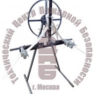 Установка для намотки пожарных рукавов в двойную скатку и перекатки на новое ребро ТЦ-11ПД Артикул 600184