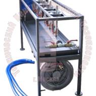 Стенд для осушки баллонов после гидравлических испытаний ТЦ-45 Артикул 600138