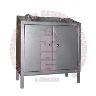 Установка для гидроиспытаний корпусов огнетушителей и баллонов с электроприводом УГИ-1Э Артикул 600110
