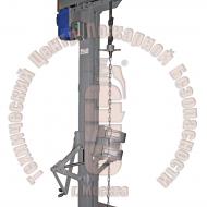Установка для очистки внутренней поверхности баллонов цепями УОВПБ-2 Артикул 600142