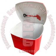 ЯП-05 тип 2. Ящик для песка 0,5 м³ с лопатой стеклопластиковый Артикул 400389