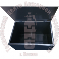 Ящик для ветоши двухсекционный · 0,3 м³ · 1,5 мм Артикул 600004