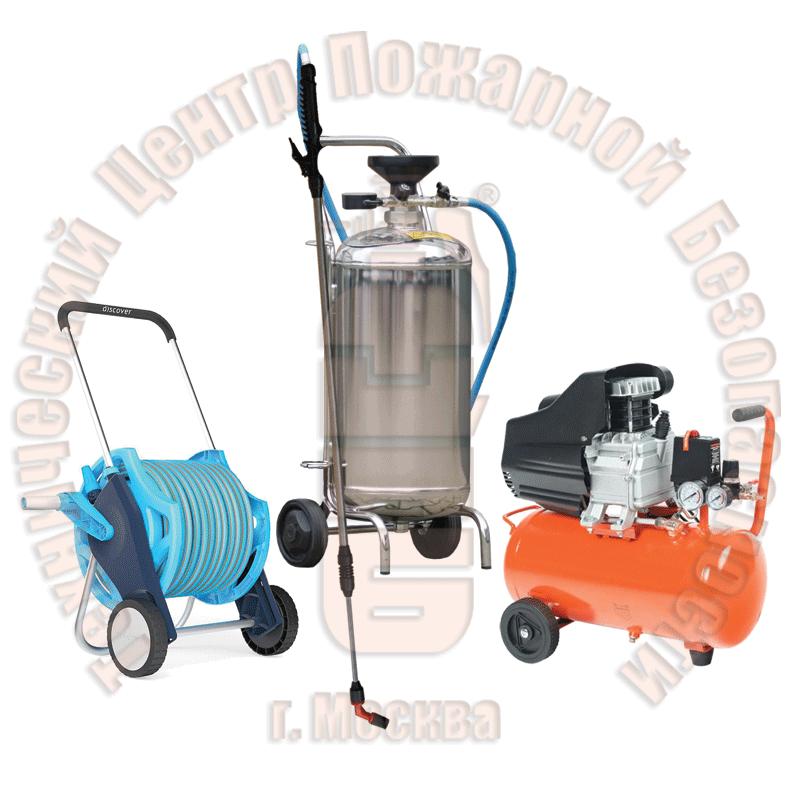 Установка для нанесения водных огне-биозащитных составов УНВС-1 (баллон из нержавеющей стали) Артикул 600160