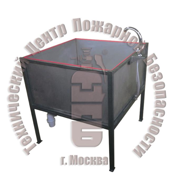Ванна для проверки на герметичность дыхательных аппаратов, односекционная ВР-1 Артикул 600219