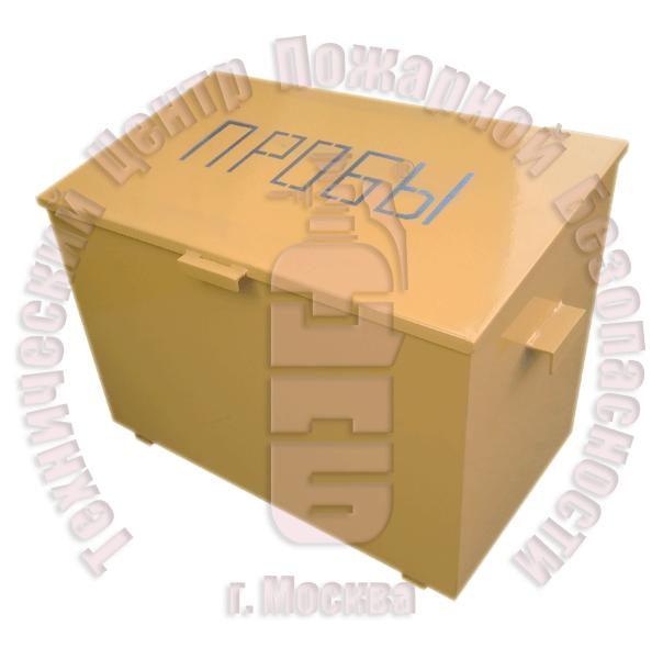 Ящик для хранения проб на 15 проб · 1,5 мм Артикул 600216